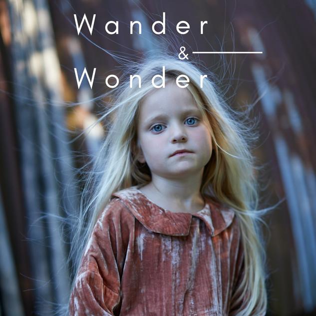 Cover Wander & Wonder magazine