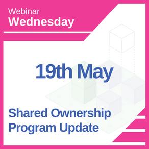 Shared Ownership Program Update