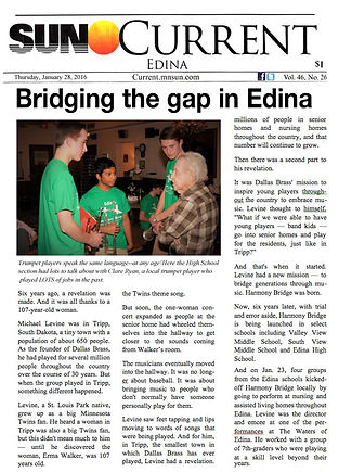 Sun Current, Bridging the gap in Edina