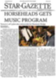 Star-Gazette, Horseheads Gets Music Program