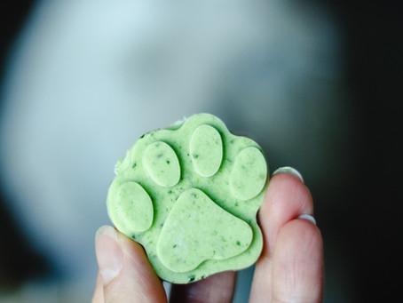 APPLE MINT FROZEN DOG TREATS