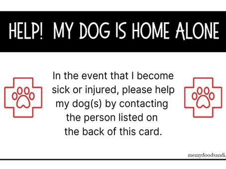 FREE EMERGENCY CARDS