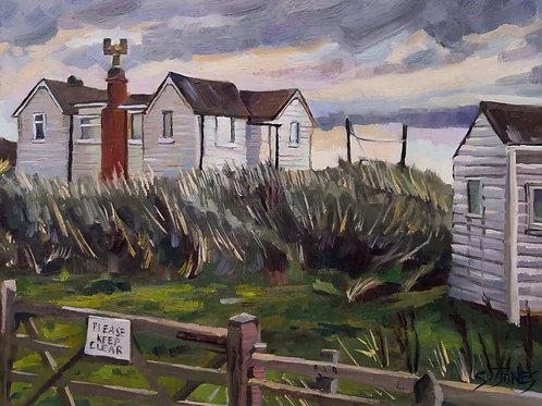 Peaceful Dwellings at Low Hauxley - Stuart Jones