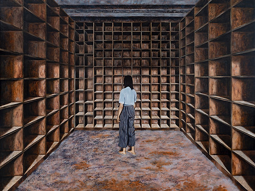 Interior Without Face - Manuel Dampeyroux