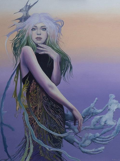 Khione Greek Goddess of snow - Keith Donald