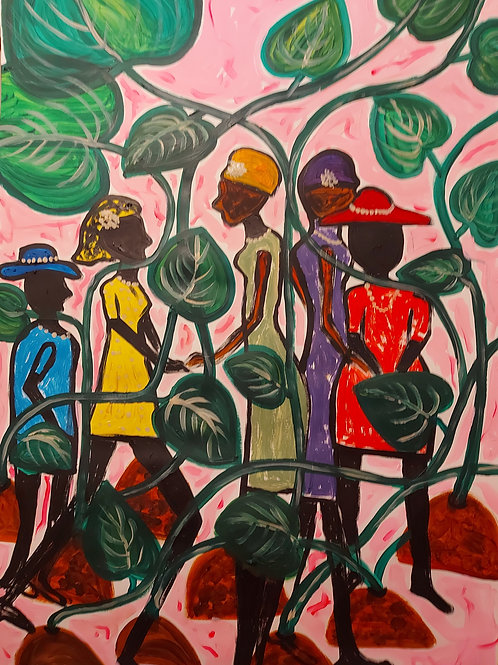 Friends in the Jungle - CHINWE RUSSELL