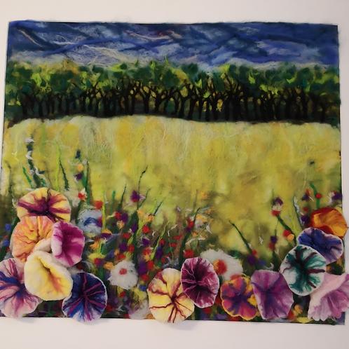 WILD FIELD OF FLOWERS