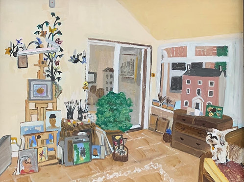 LINDA BEDFORD - MY STUDIO