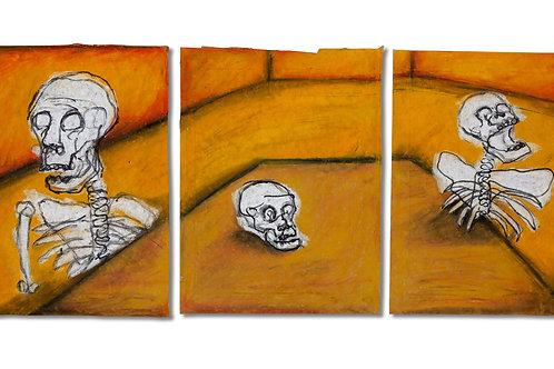 Three Studies Much Smaller, With Skeletons. - JOSHUA TUCKER