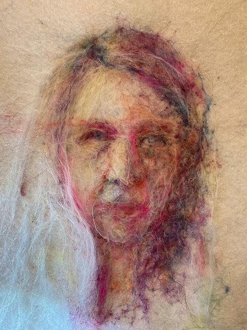 How I think I look now - Frances Richards Eris