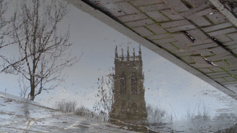 DAVID WILLIAMS THE MINSTER IN A PUDDLE D