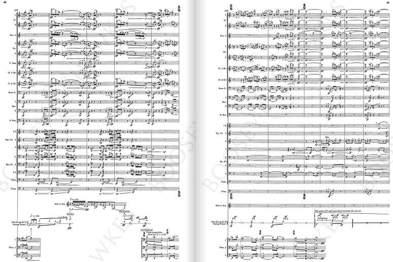 Harrison Birtwistle Panic Score