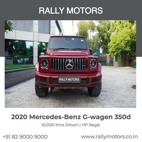 2020 Mercedes-Benz G-wagen 350d
