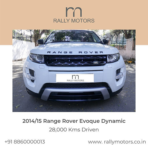 2014/15 Range Rover Evoque Dynamic