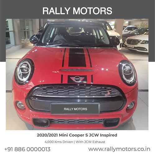 2020/2021 Mini Cooper S JCW Inspired