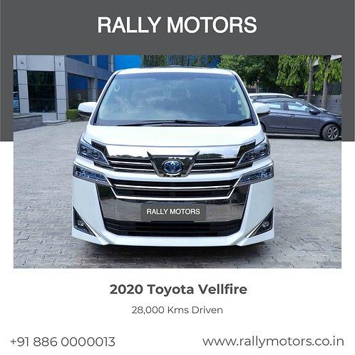 2020 Toyota Vellfire
