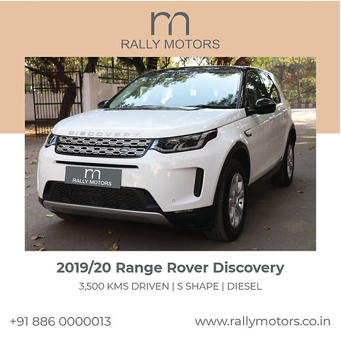 2019/20 Range Rover Discovery