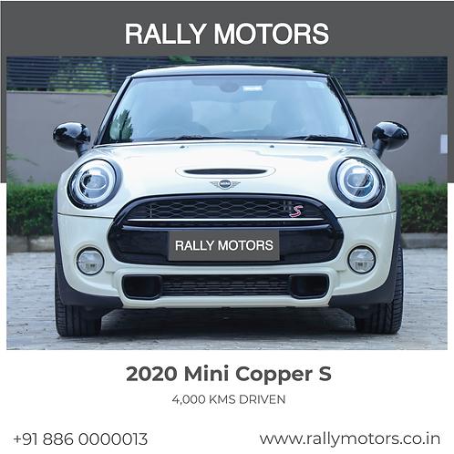 2020 Mini Cooper S