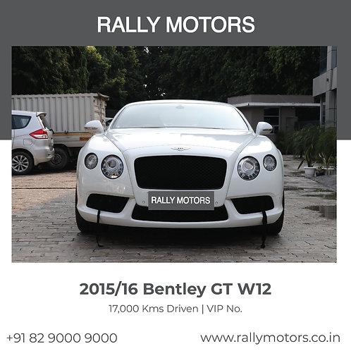 2015/16 Bentley GT W12