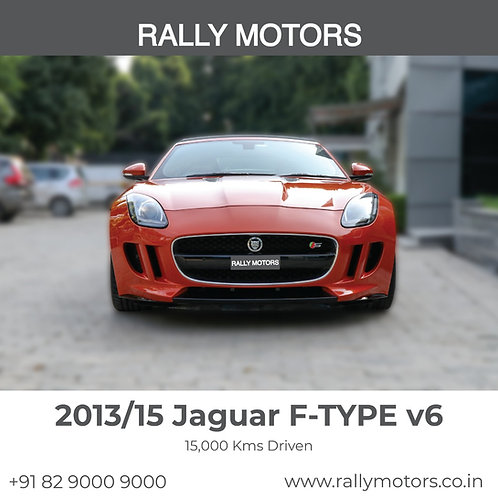 2013/15 Jaguar F-Type V6