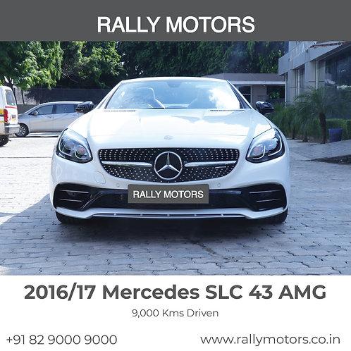 2016/17 Mercedes Benz SLC 43 AMG