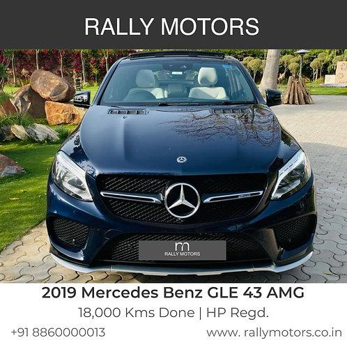 2019 Mercedes Benz GLE 43 AMG