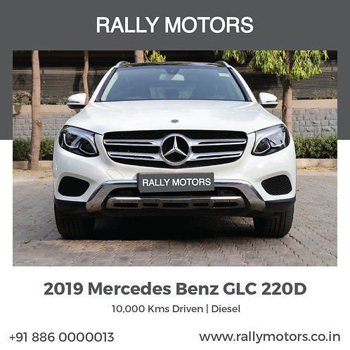 2019 Mercedes Benz GLC 220D
