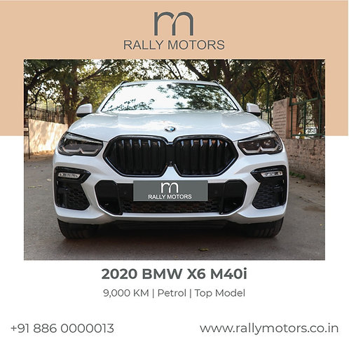2020 BMW x6 m40i