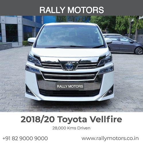 2018/20 Toyota Vellfire