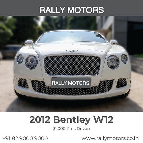 2012 Bentley W12