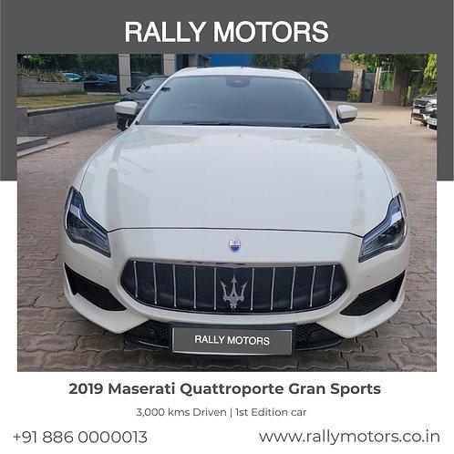 2019 Maserati Quattroporte Gran Sports