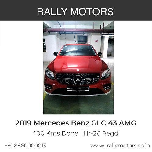 2019 Mercedes Benz GLC 43 AMG
