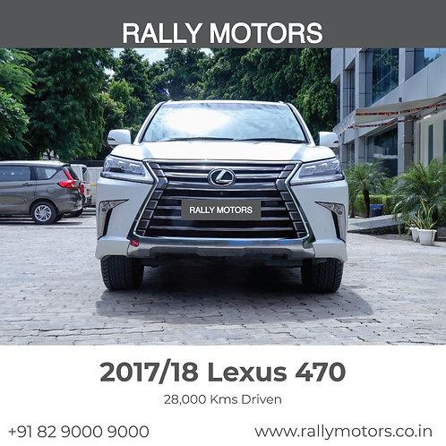2017/18 Lexus 470