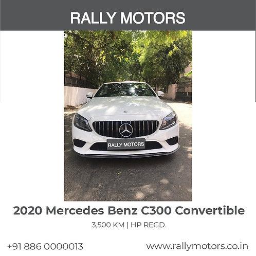 2020 Mercedes Benz C300 Convertible