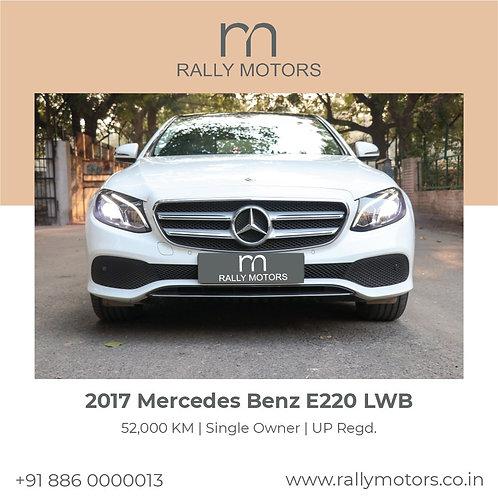 2017 Mercedes Benz E220D