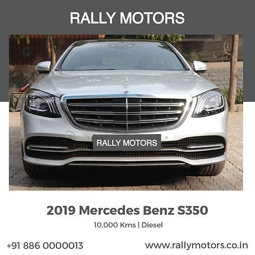 2019 Mercedes Benz s350