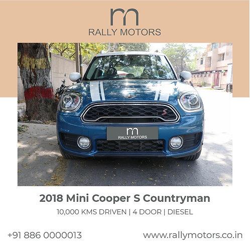 2018 Mini Cooper S Countryman