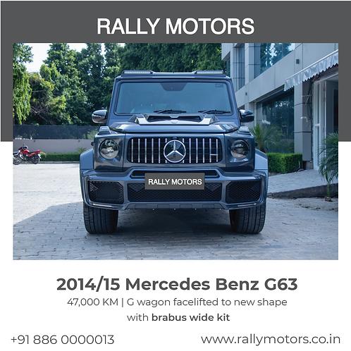 2014/15 Mercedes Benz G63