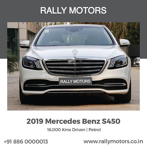 2019 Mercedes Benz S450