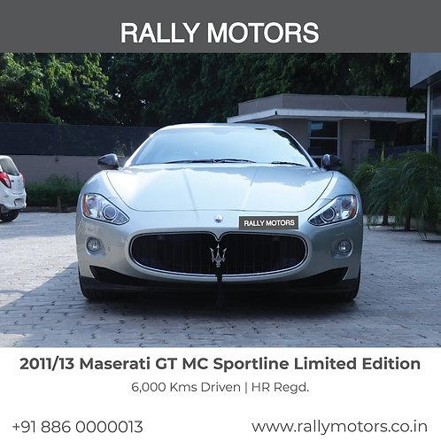 2011/13 Maserati GT MC Sportline Limited Edition