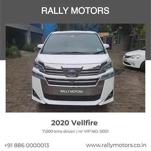 2020 Vellfire
