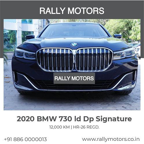 2020 BMW 730 ld Dp Signature