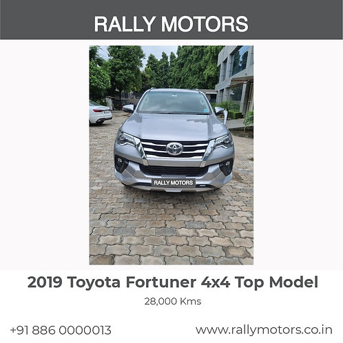 2019 Toyota Fortuner 4x4 Top Model