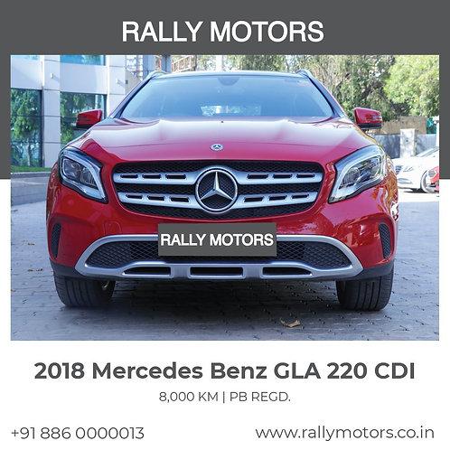 2018 Mercedes Benz GLA 220 CDI