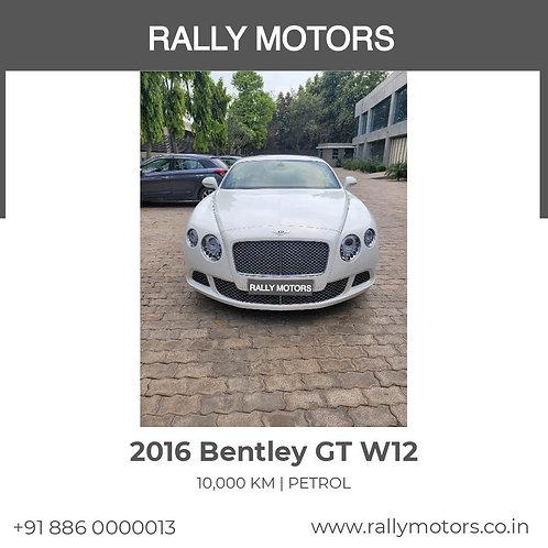 2016 Bentley GT W12