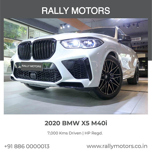 2020 BMW X5 M40i