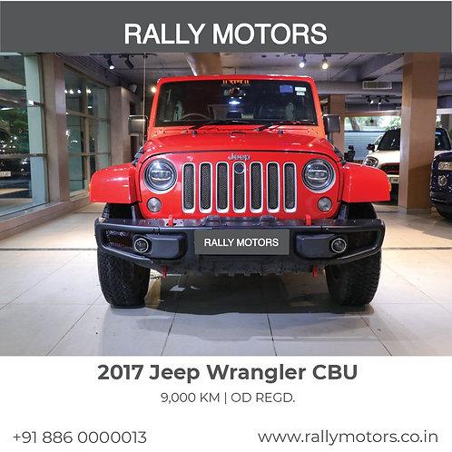 2017 Jeep Wrangler CBU