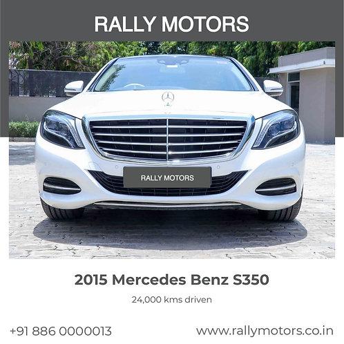 2015 Mercedes Benz S350