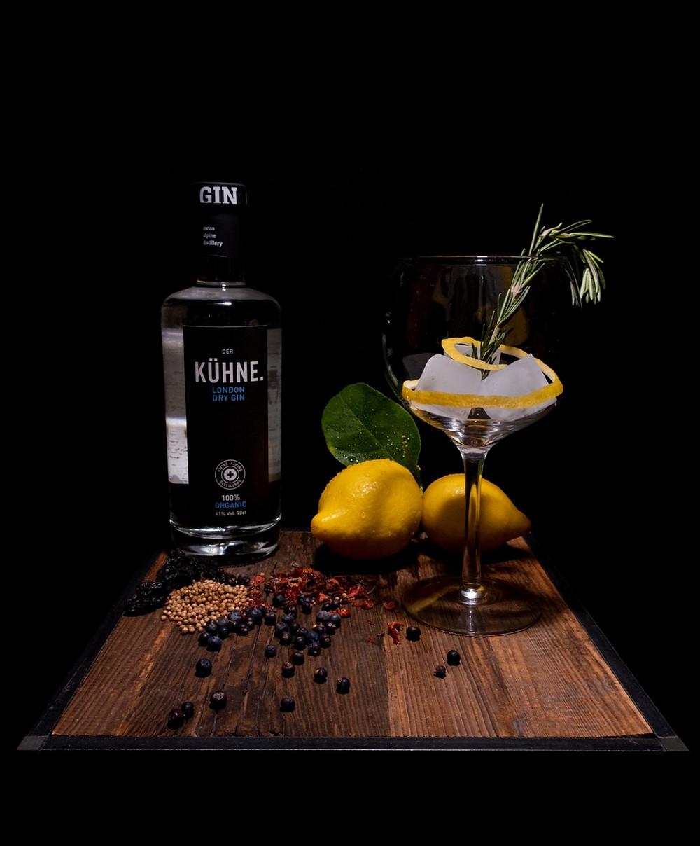 Der Kühne. London dry Gin