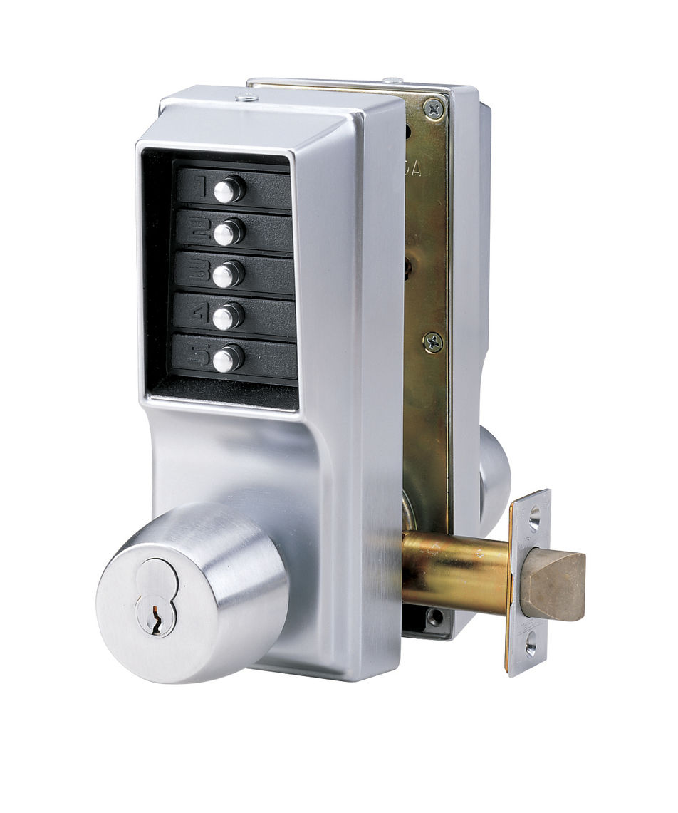 simplex push button  lock